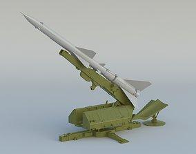 3D model S-75 Dvina SA-2 Guideline S-75 Desna V-750