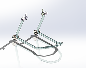 3D Motorcycle repair stant plans