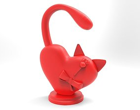 toy Cat heart for 3d printing