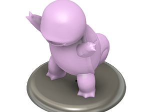 3D print model Pokemon Squirtle