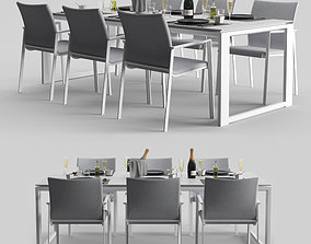PRO-PRIMAVERA DINING EXTENDABLE 3D asset