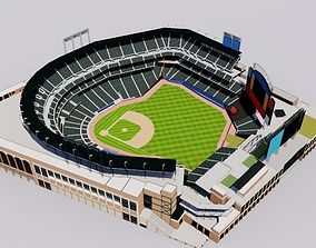 soccer Citi Field - New York Mets Baseball Stadium 3D