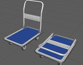 3D CartA high-poly model