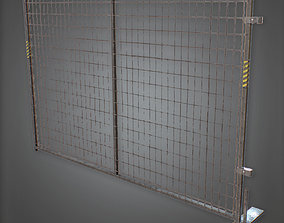 Construction Fence - CNST - PBR Game Ready 3D asset