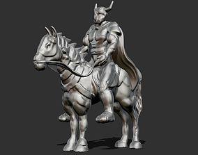 3D print model Horse Rider