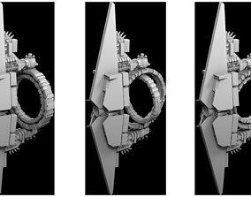 ship 3D model Oya Super Dreadnought