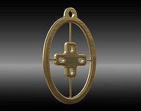 3D printable model Symbol of Intelligente Pendant