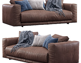 3D model Leather sofa Moss by Cor