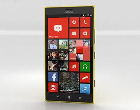 3D Nokia Lumia 1520 Yellow
