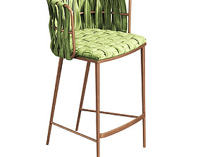 3D Counter Chair Bar Stool 111