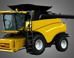 3D NH - CR 9070 Combine Harvester