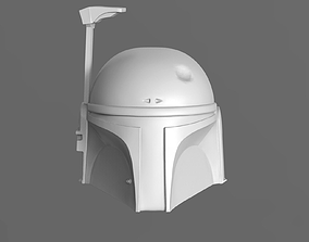 3D print model Boba Fett Helmet Fan Art