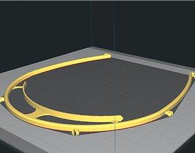 Simple Visor Shield 3D printable model