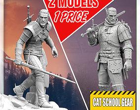 Witcher geralt 3D printable model