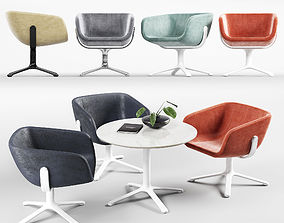 3D Halle Scoop Lounge Set