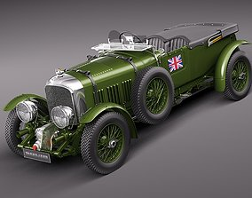 3D Bentley 4 5 Litre Blower 1929