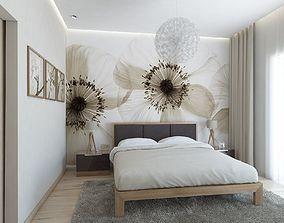 Bedroom Flower 3D model