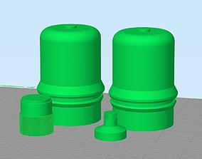 Rey TFA The Force Awakens Backpack 3D printable model 3