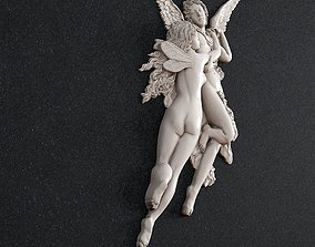 cupid and psyche pendant 3D printable model