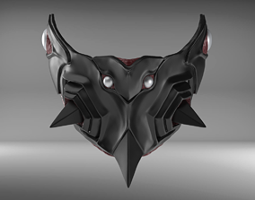 3D printable model Bio Armor III Custom Mask Fan Art