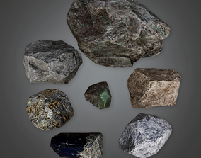 Geology Rocks - CLA - PBR Game Ready 3D model