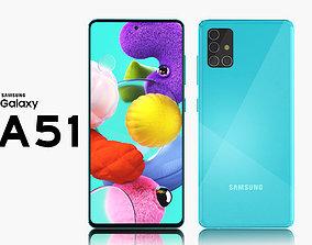 phone samsung galaxy a51 3D