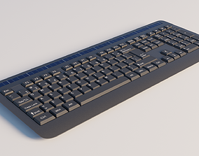 Generic wireless keyboard 3D typing