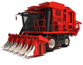 3D Cotton Picker Harvester