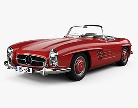 Mercedes-Benz 300 SL 1957 3D model