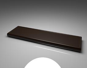 3D model Dark Chocolate Bar 1