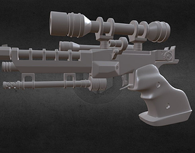S-5 Naboo heavy blaster from STAR WARS 3D print model