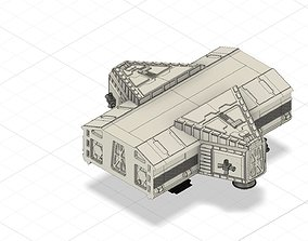 3D printable model Space 1999 Science pod addition 44 1