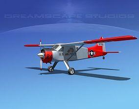 3D Dehaviland DH-2 Beaver USAF 2