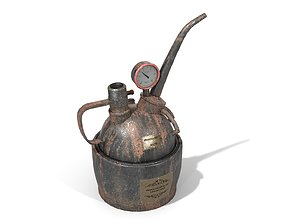Steampunk Oilcan 3D model