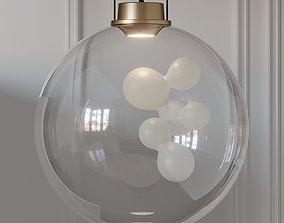 3D model Soap Sphere Suspension Pendant Light