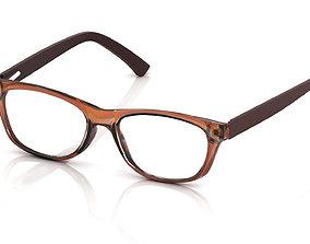 Eyeglasses for Men and Women optical 3D printable model