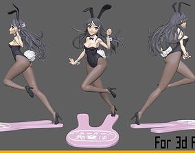 Bunny Girl 3D print model