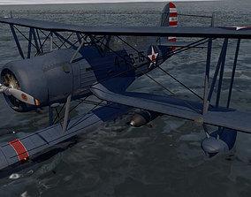 3D model Curtiss SOC-3 Seagull