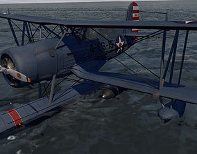 3D Curtiss SOC-3 Seagull