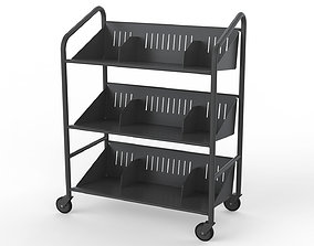 3D Generic Cart Library Transport 03
