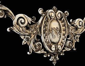 3D print model Medallion rossette