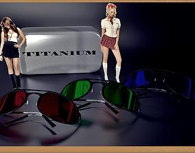 3D model fashion-accessory Sunglasses