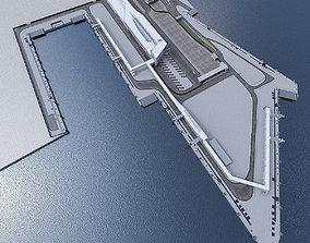 Port Terminal 3D model