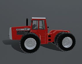 3D model PBR Massey-Fergusson 4000 Series