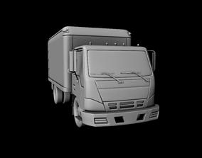 Truck 3D asset game-ready