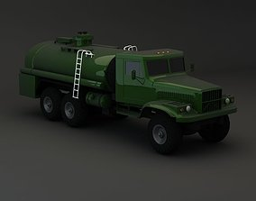 3D model Truck KRAZ 255 B Tanker 1