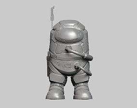 3D model Among Us Figure 3D print model