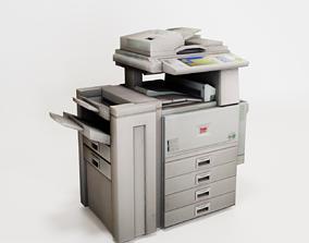 machine Copy Machine - Color Photocopier 3D model