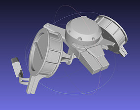 Attack On Titan Season 4 Gear Hip Part 3D print model