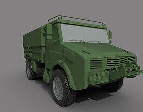3D asset BMC 185 military Truck